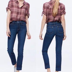 Paige Hoxton Slim Blind Stitch Ankle Jeans Sz 28